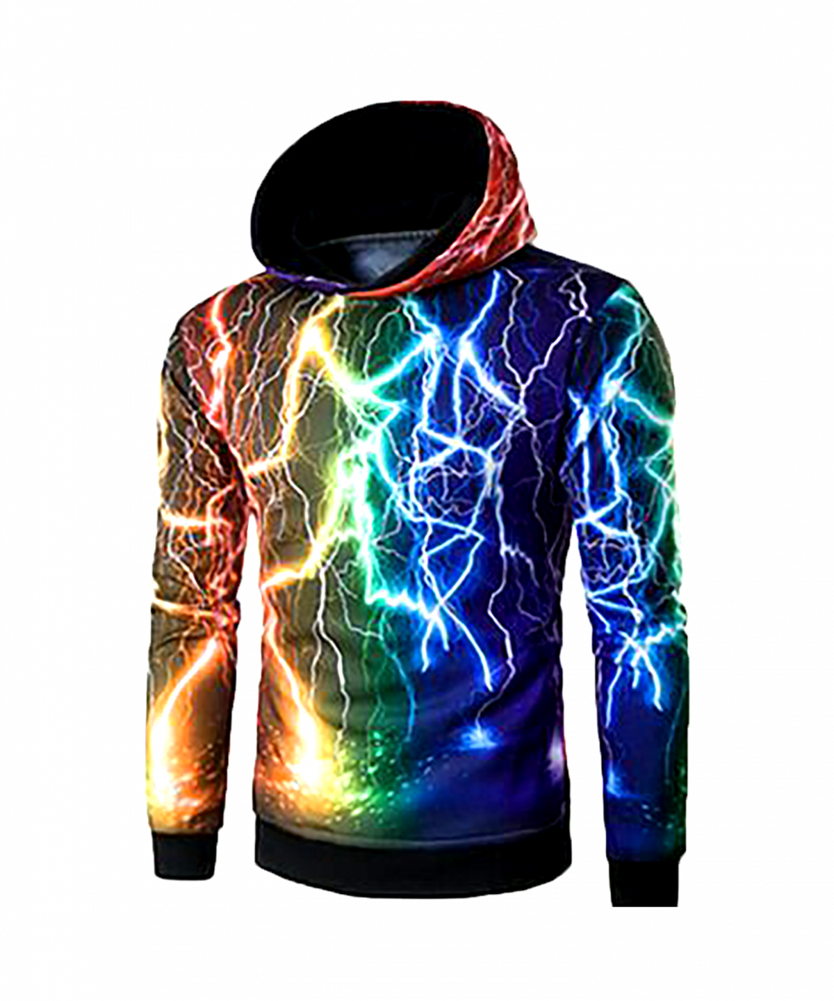 jaket full print abstrak colorfull